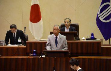 9月9日仙台市議会臨時会が開催されれました。