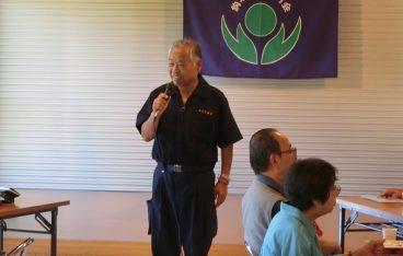 鈎取八幡町内会と鈎取千本杉町内会にて敬老会が開催されご挨拶をさせて頂きました。