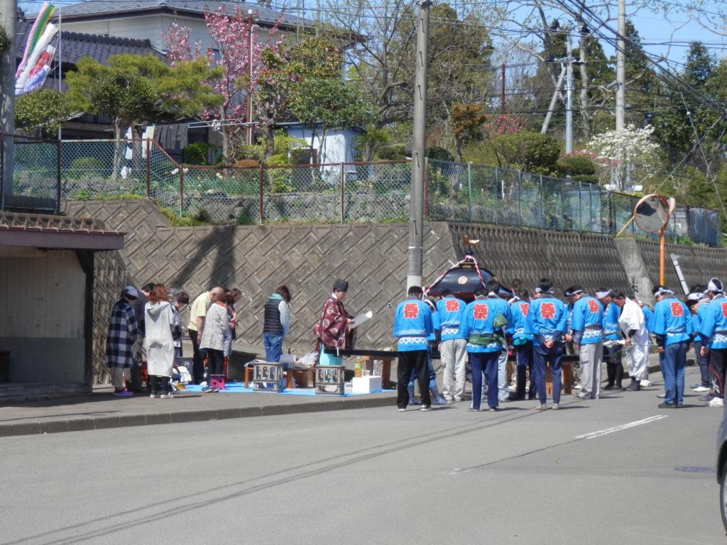 富田八坂神社例大祭 |4月29日