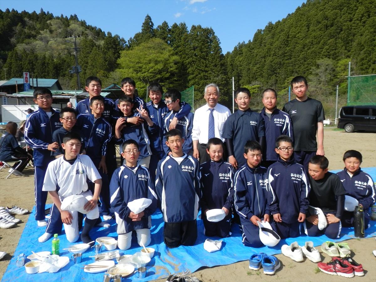 仙台太白リトルシニアチーム |5月3日