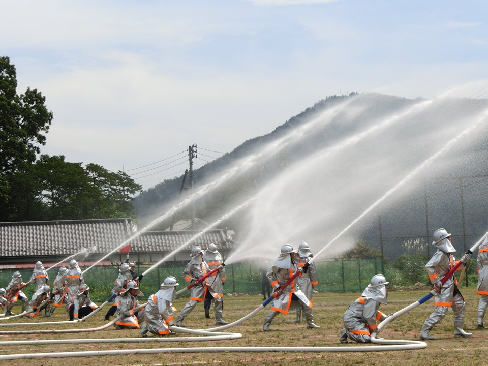 9月1日、秋保消防団の特別点検を参観いたしました。仕事の傍ら訓練に励れた成果が十二分に発揮されておりました、団員の皆様ご苦労さまです。