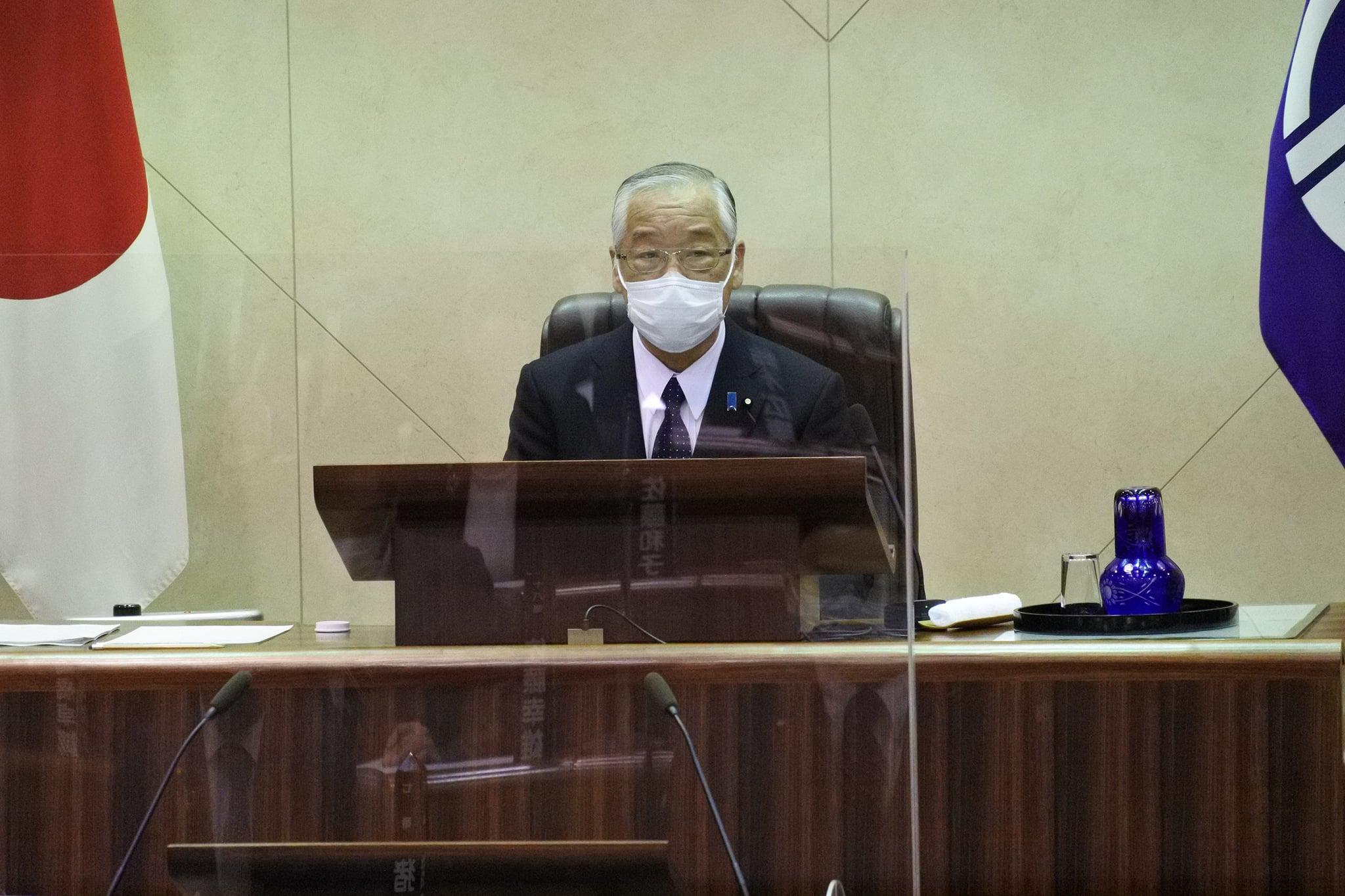 令和3年1月5日  令和3年第1回臨時議会が開催されました。