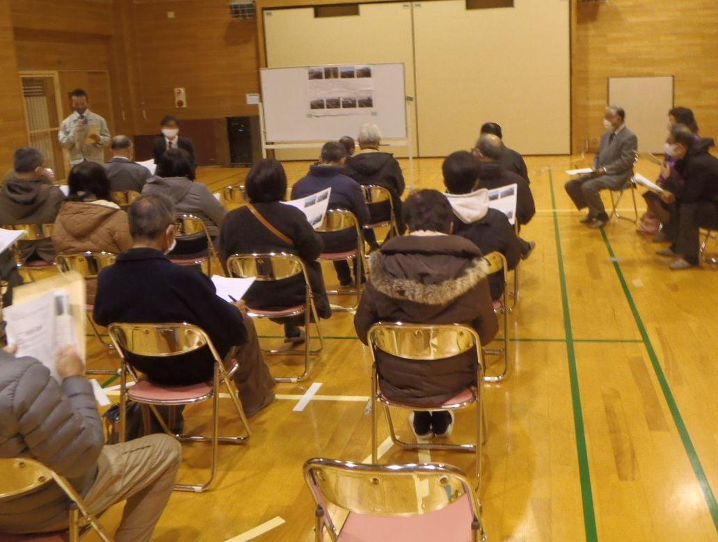 都市計画道路郡山折立線の交通信号設置の意見交換会がおこなわれ出席いたしました。