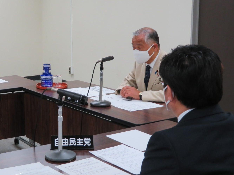 令和3年3月24日  第6回仙台市議会災害対策会議を開催しました。