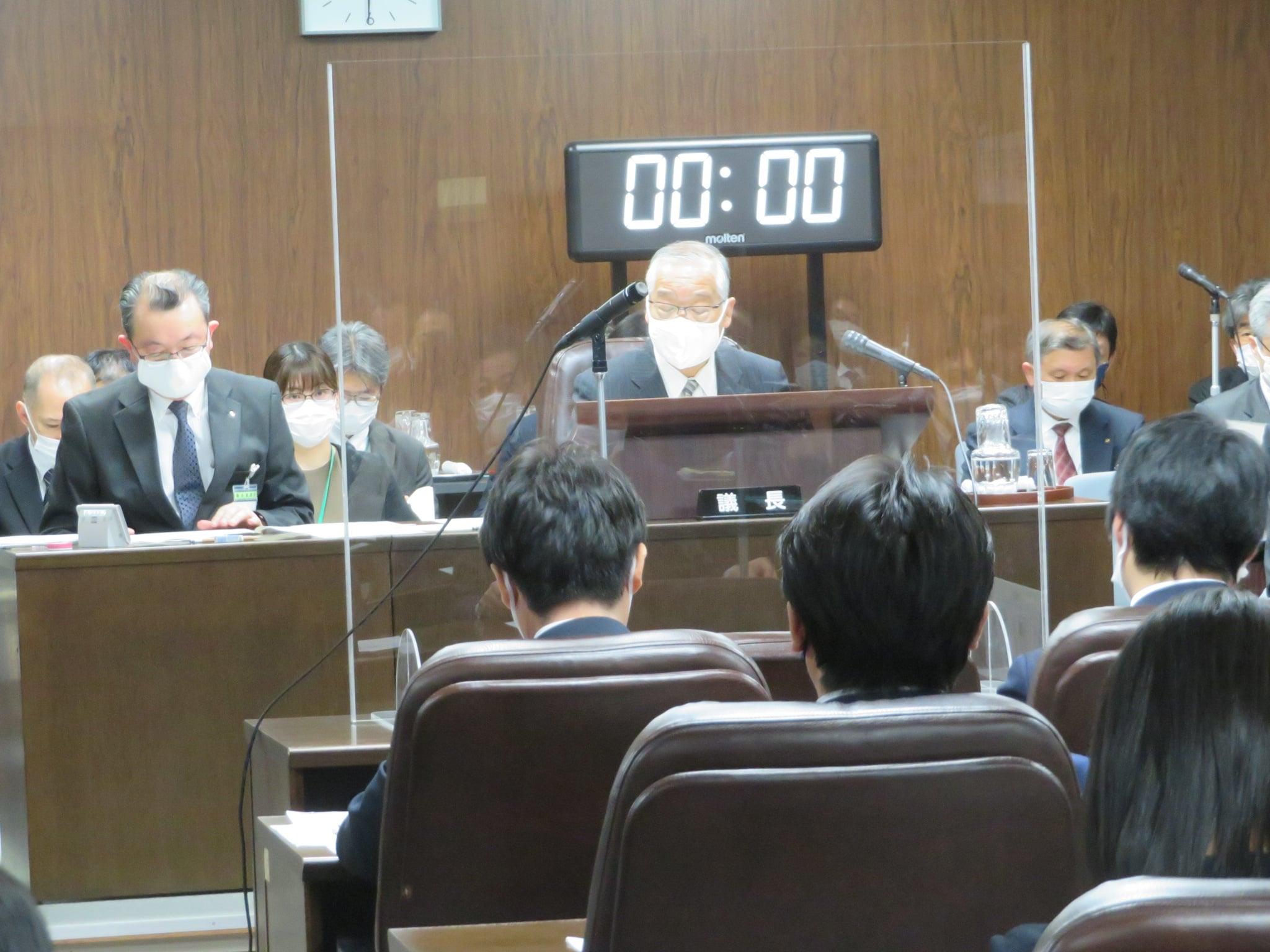 令和3年4月5日(月) 第8回仙台市議会災害対策会議(全議員)を開催しました。