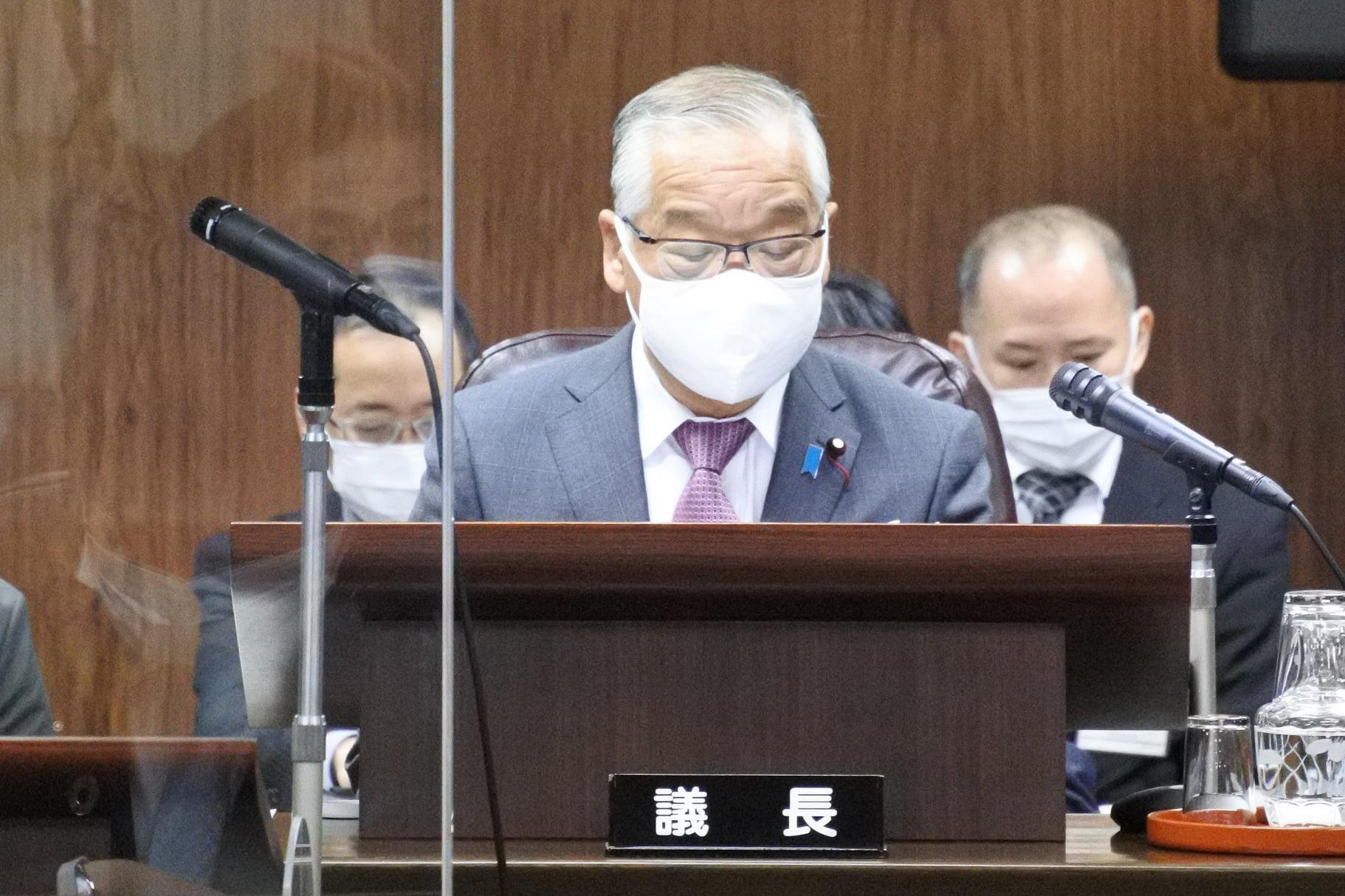 仙台市議会の臨時議会
