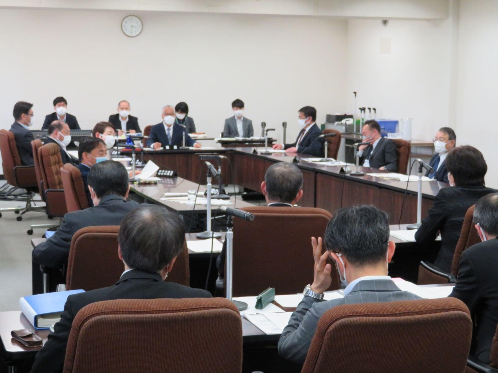 仙台市議会災害対策会議