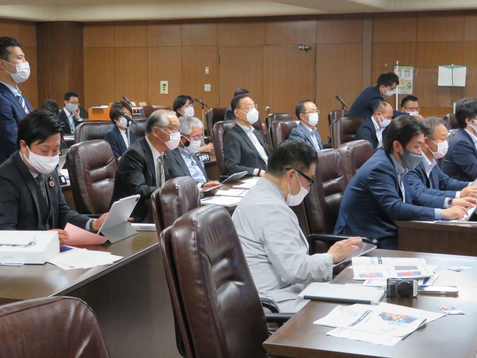 仙台市議会でのタブレット端末導入のための研修会が開催